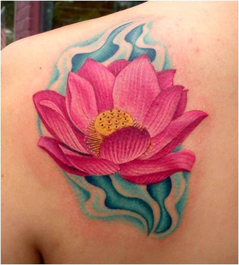Tattoos Of A Lotus Flower
