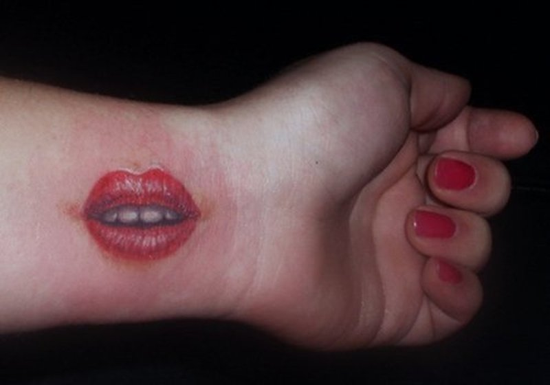 Tattoos Of Lips Ideas