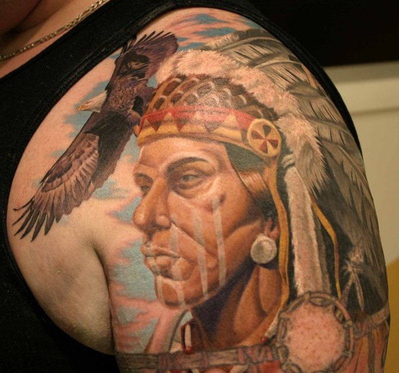Tattoos Of Native American