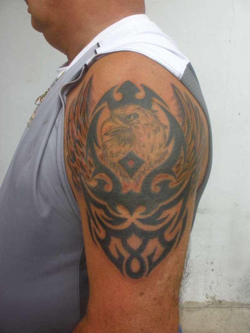 Tribal Bald Eagle Tattoos