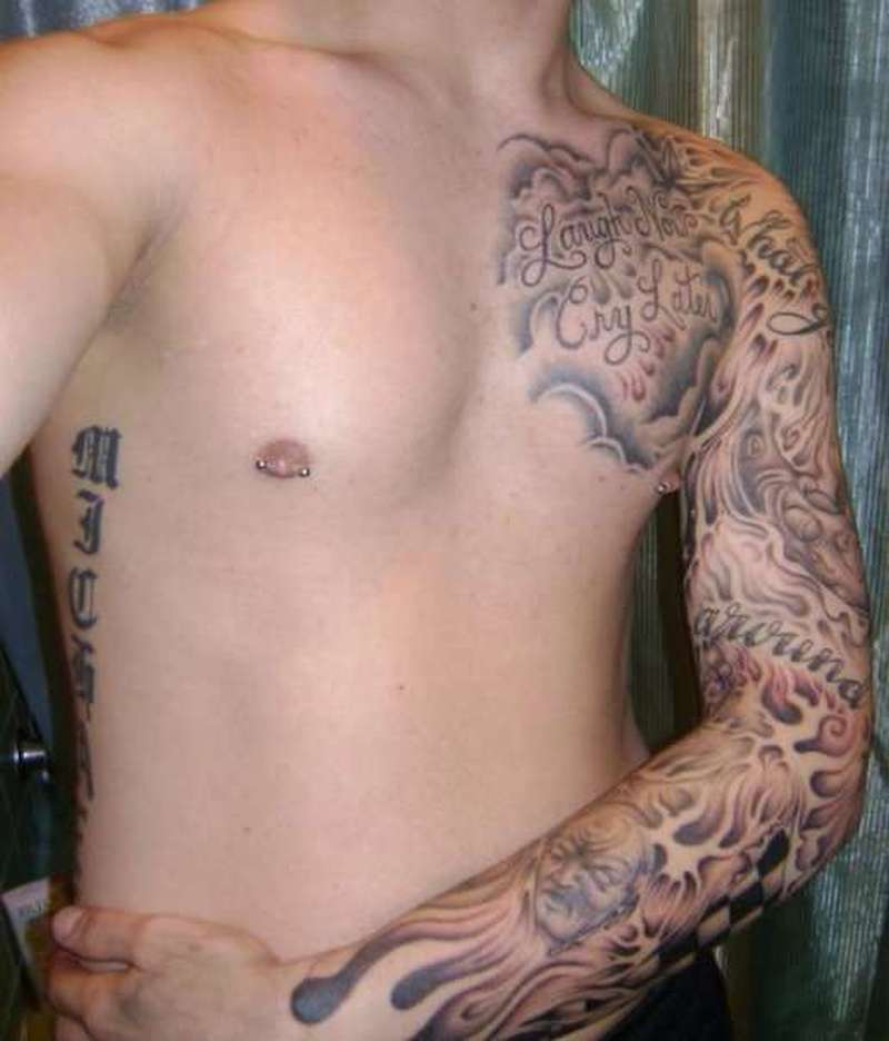 c7979e060d6a7 Whole Chest Tattoos Men - Tattoos Book - 65.000 Tattoos Designs
