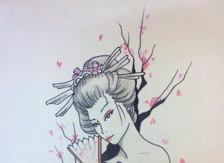 A Japanese Geisha Tattoo Design 2 Tattoos Book 65 000 Tattoos