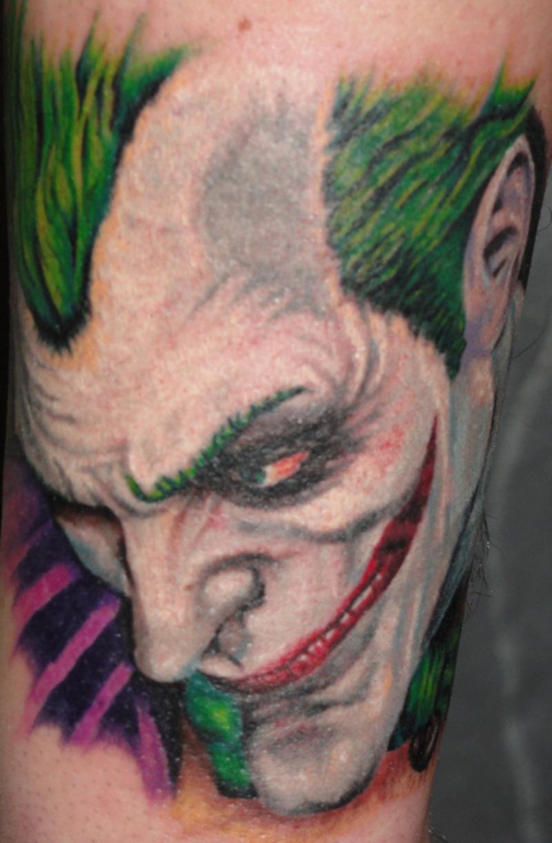 A Joker Face Tattoo Design Tattoos Book 65 000 Tattoos Designs