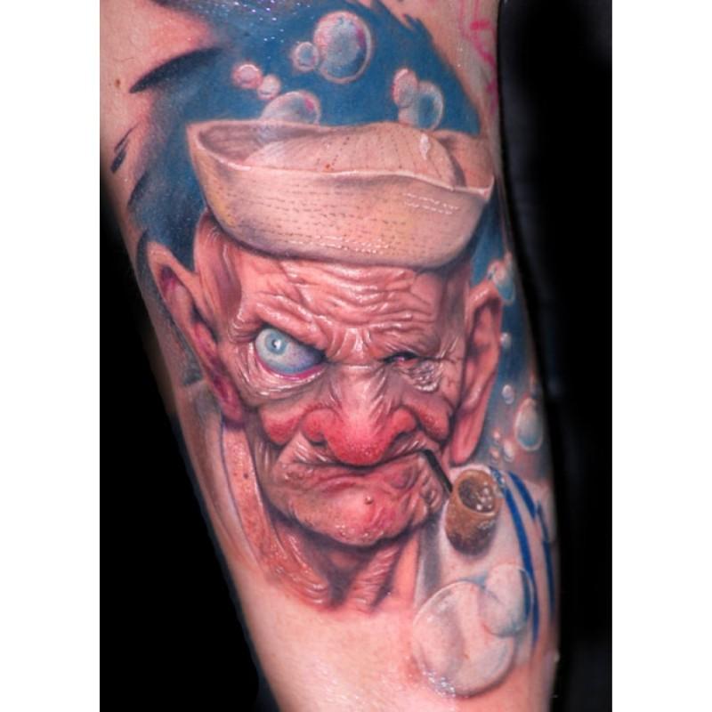 Alex fantasy tattoo design