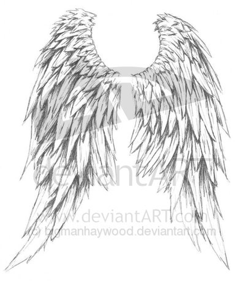 amazing design of angel wings tattoo design tattoos book tattoos designs. Black Bedroom Furniture Sets. Home Design Ideas