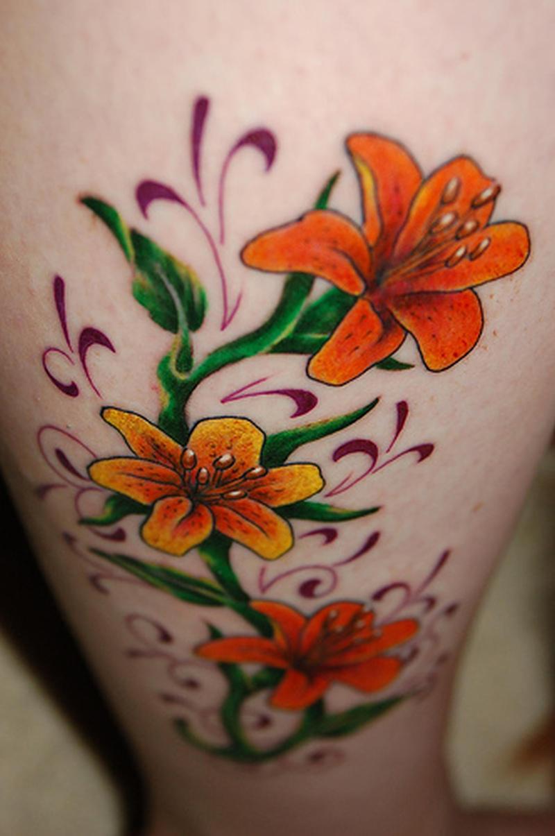 Amazing Hawaiian Flowers Tattoo Tattoos Book
