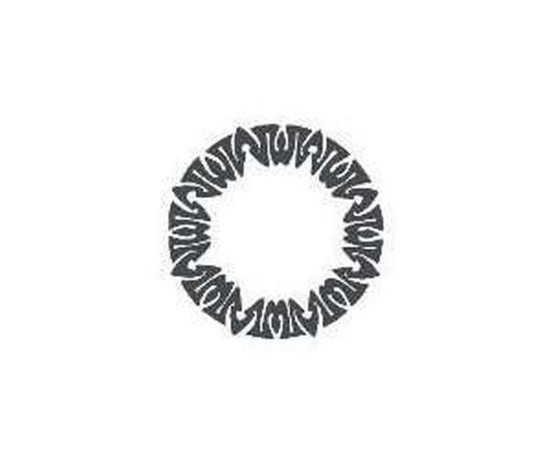 Amazon celtic circle temporary tattoo design