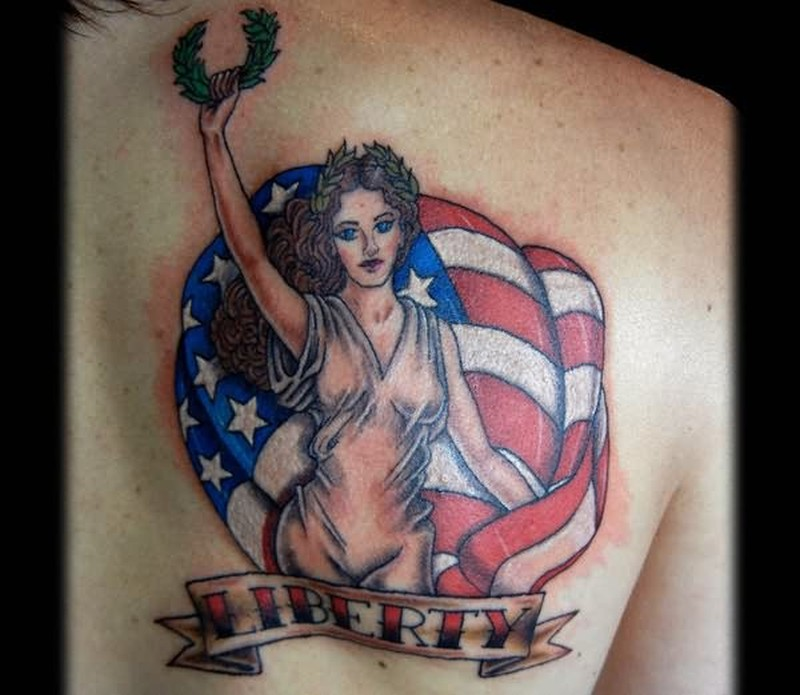 America symbol country tattoo