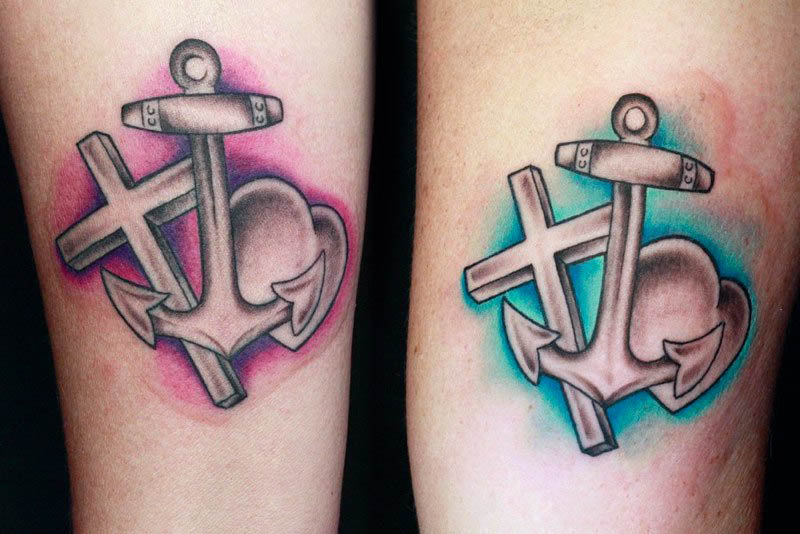 6b131a52b Anchor heart cross tattoo designs - Tattoos Book - 65.000 Tattoos ...