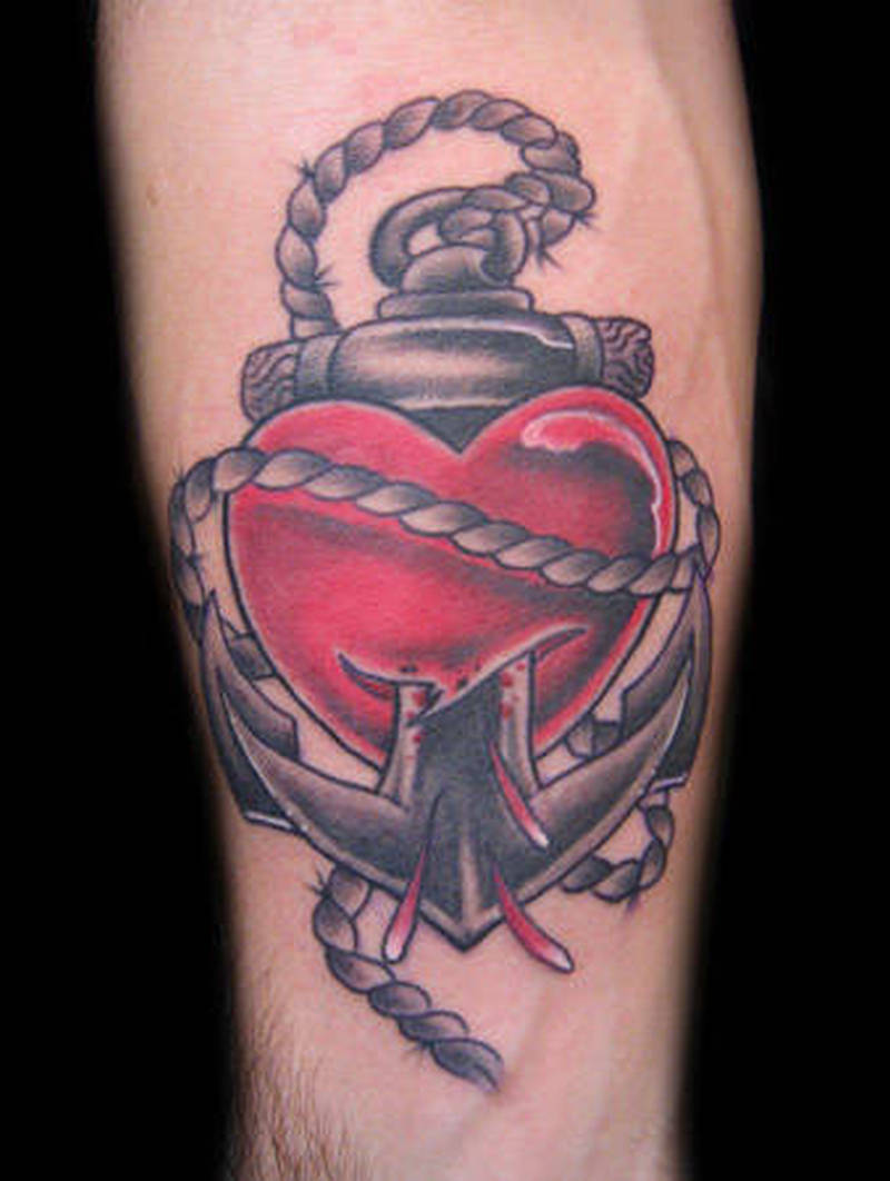 c7894601a Anchor heart tattoo - Tattoos Book - 65.000 Tattoos Designs