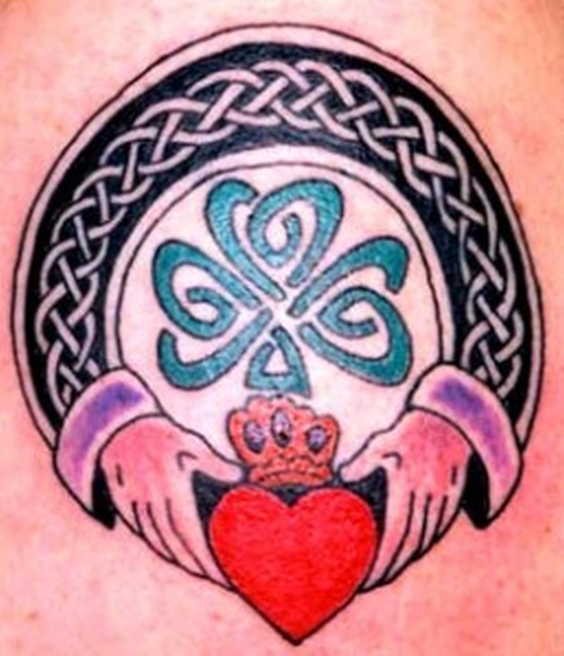 Another celtic claddagh tattoo