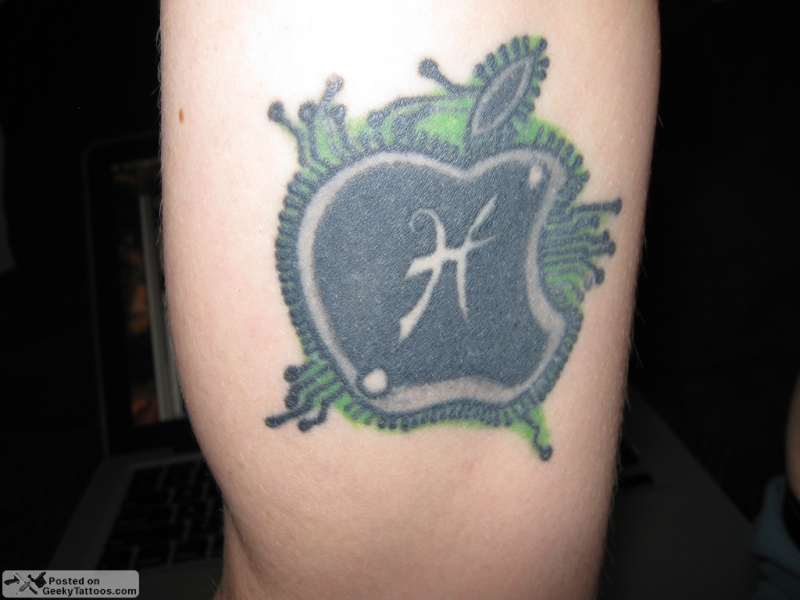 Apple processor tattoo