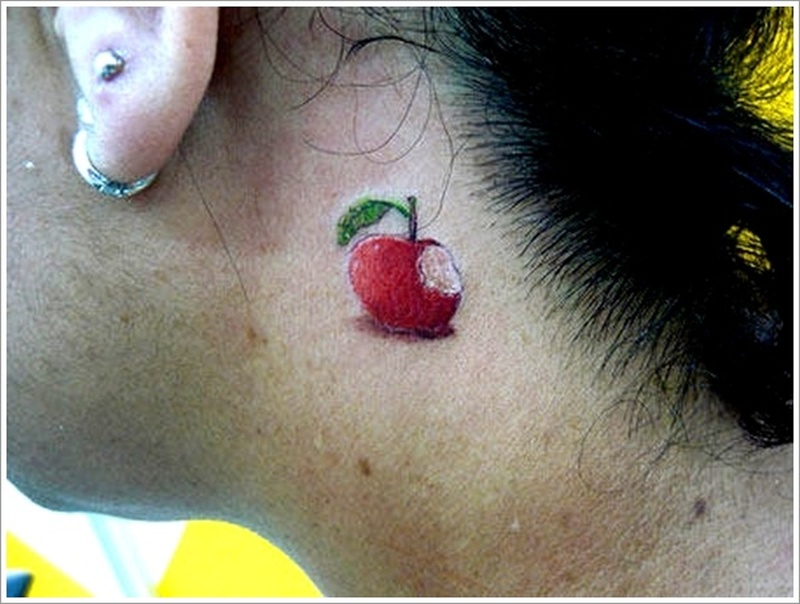 Apple tattoo designs