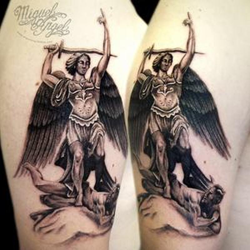 archangel gabriel tattoo design for girls tattoos book tattoos designs. Black Bedroom Furniture Sets. Home Design Ideas