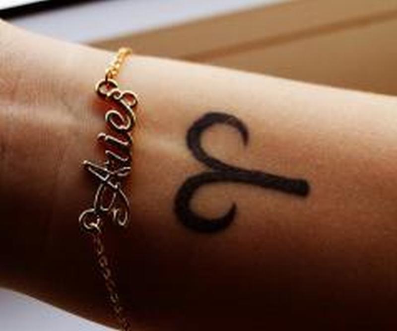 Aries Symbol Tattoo On Wrist Tattoos Book 65000 Tattoos Designs