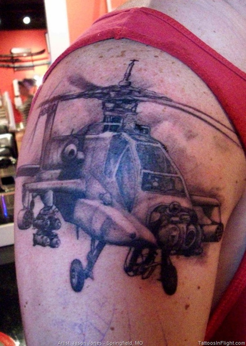 army apache helicopter tattoo tattoos book. Black Bedroom Furniture Sets. Home Design Ideas