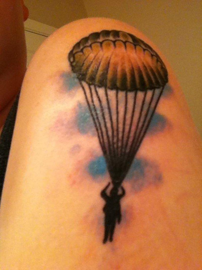 100 parachute tattoo designs sleeve military tattoo design of tattoosdesign of tattoos 30. Black Bedroom Furniture Sets. Home Design Ideas