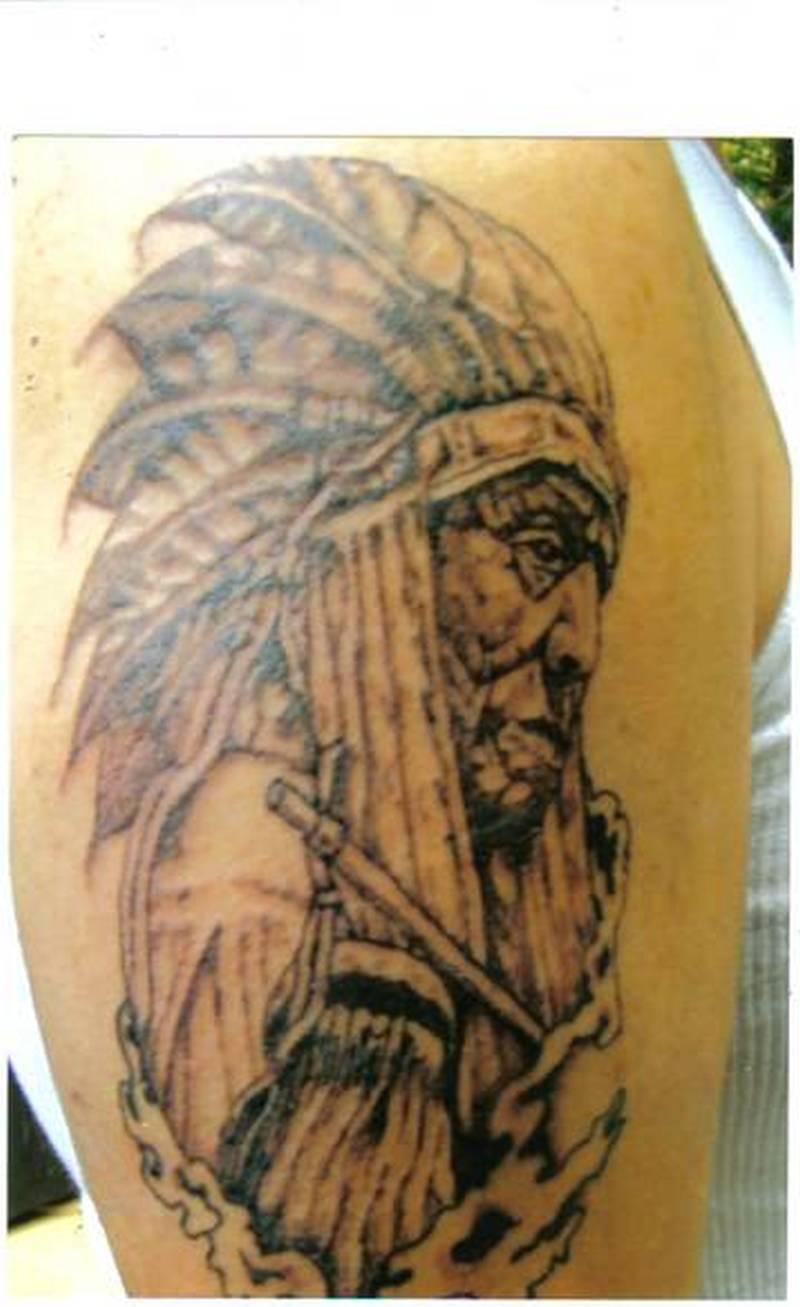 dafa49c5cb845 Awesome american indian tattoo design - Tattoos Book - 65.000 ...