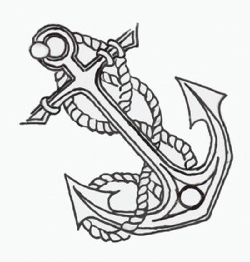 76ea74f248295 Awesome anchor symbol tattoo design - Tattoos Book - 65.000 Tattoos ...
