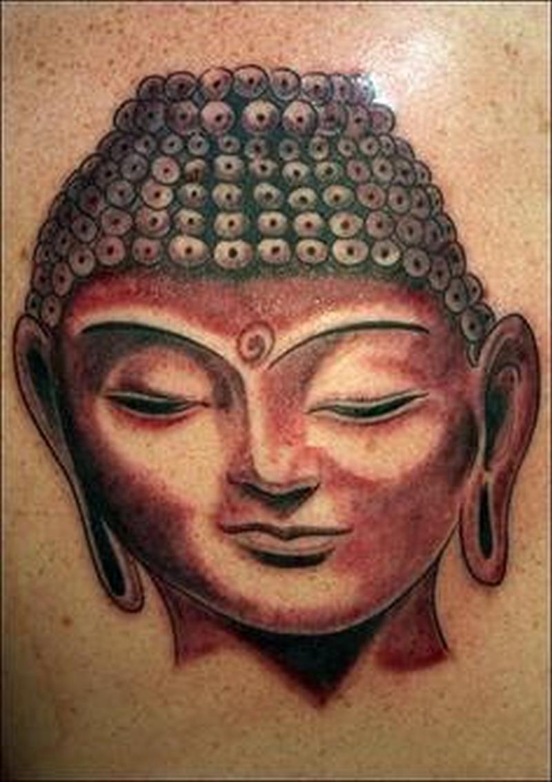 Awesome buddha face tattoo - Tattoos Book - 65.000 Tattoos Designs for Gautam Buddha Face Tattoo  56bof