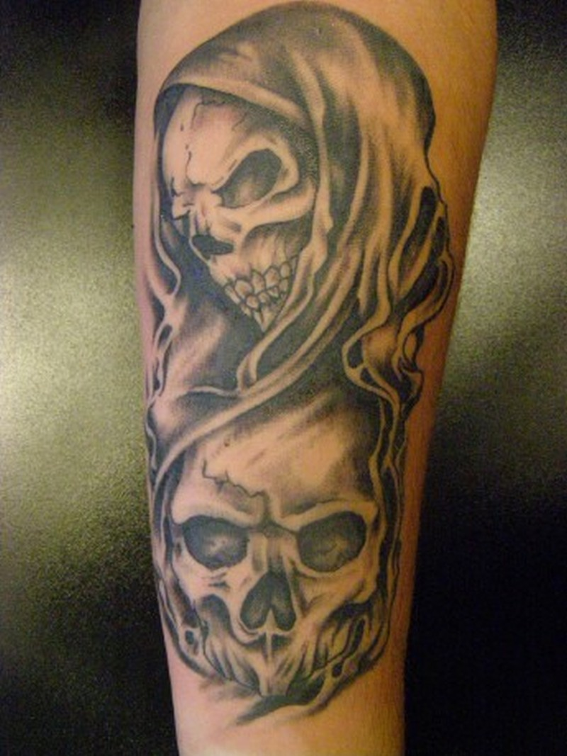 awesome death skull tattoo design tattoos book tattoos designs. Black Bedroom Furniture Sets. Home Design Ideas