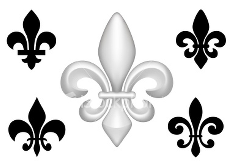 awesome fleur de lis tattoo designs tattoos book 65. Black Bedroom Furniture Sets. Home Design Ideas