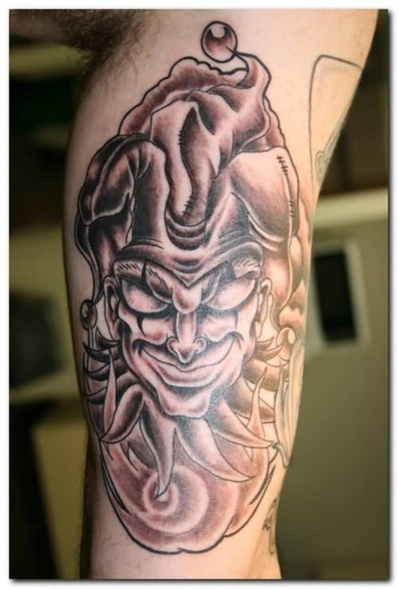 Awesome Joker Face Tattoo Design Tattoos Book 65 000 Tattoos Designs