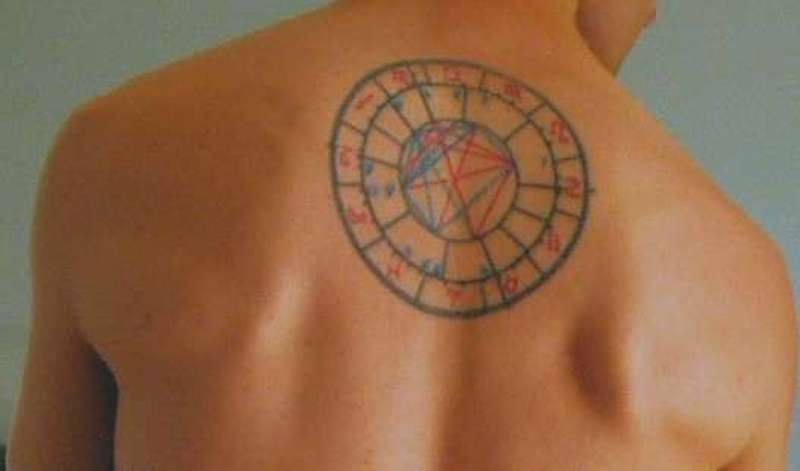 Awesome zodiac aquarius tattoo
