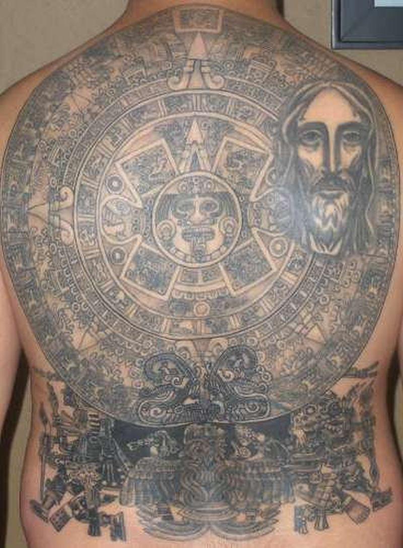 2d93ad570 Aztec tattoo designs for back3 - Tattoos Book - 65.000 Tattoos Designs