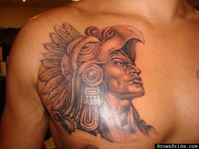 a9270fce0f0dc Aztec tattoo on chest - Tattoos Book - 65.000 Tattoos Designs