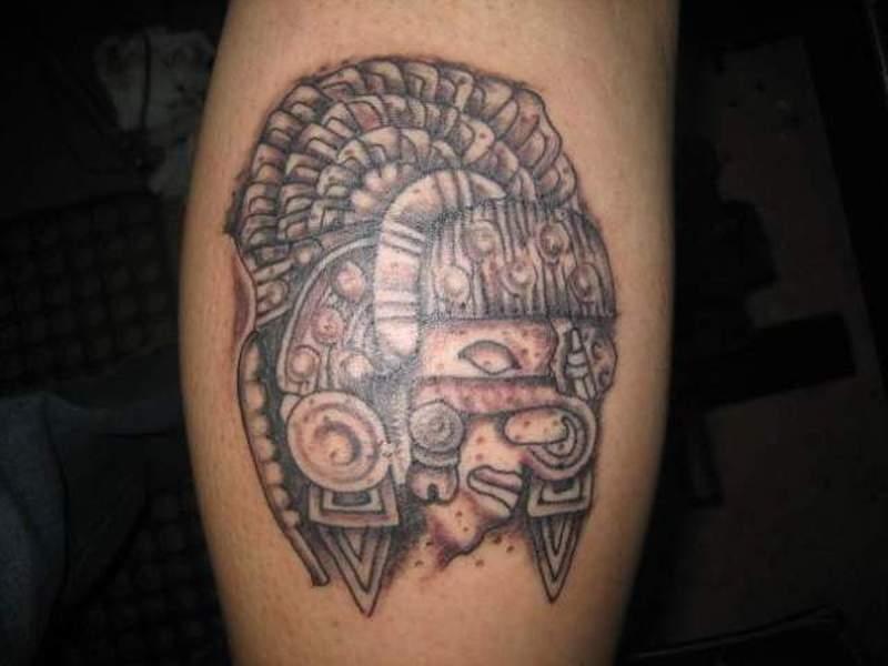 2dde02c9b Aztec warrior tattoo design - Tattoos Book - 65.000 Tattoos Designs