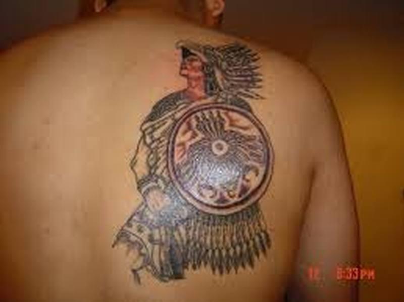 2c89210be Aztec warrior tattoo - Tattoos Book - 65.000 Tattoos Designs