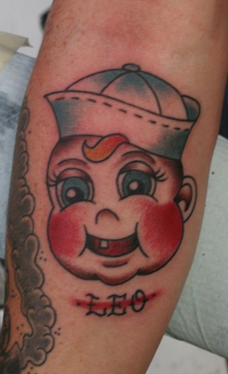 Baby matt tattoo design
