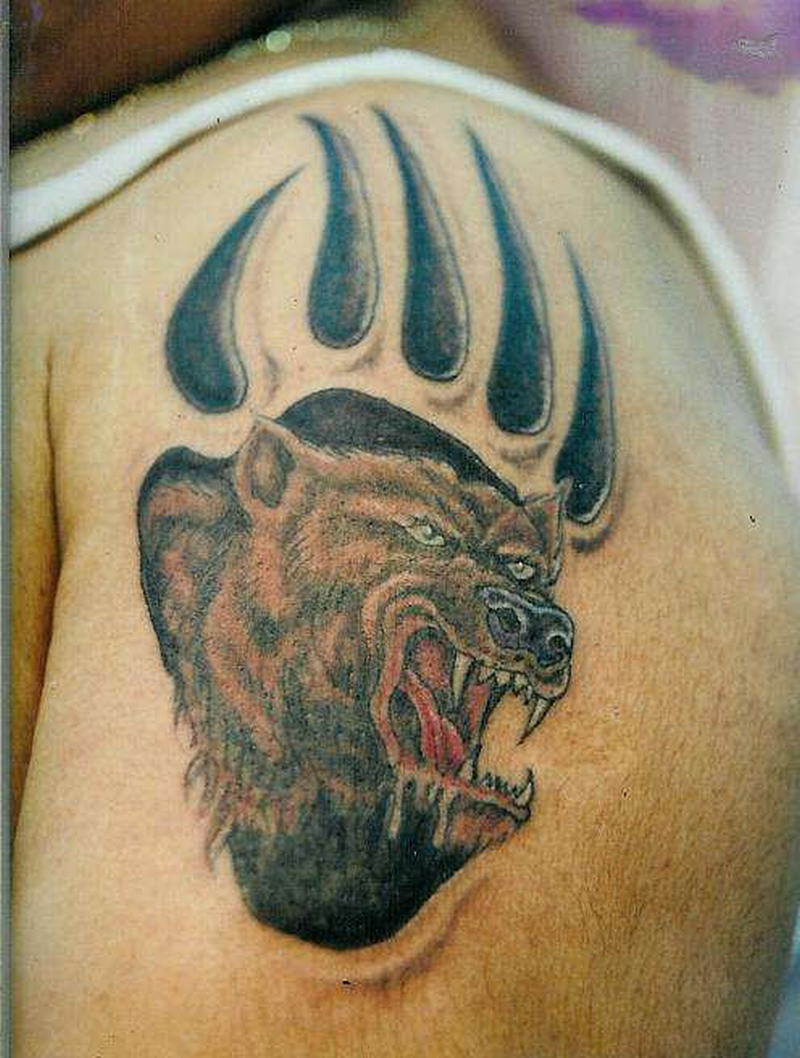 28669c6cf Bear tattoo graphic - Tattoos Book - 65.000 Tattoos Designs