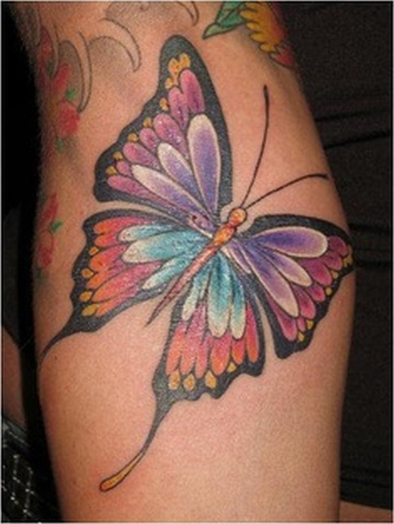 935f8265f Beautiful butterfly insect tattoo - Tattoos Book - 65.000 Tattoos ...