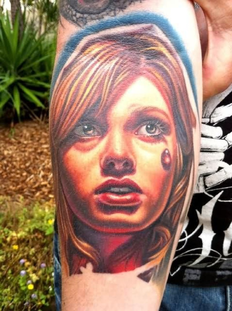 Deer Stand Window Designs : Beautiful girl gangster tattoo design tattoos book