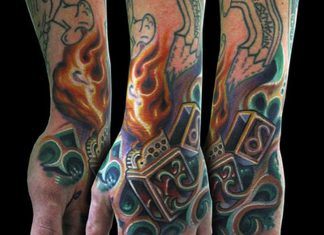 best-3d-biomechanical-tattoo-design