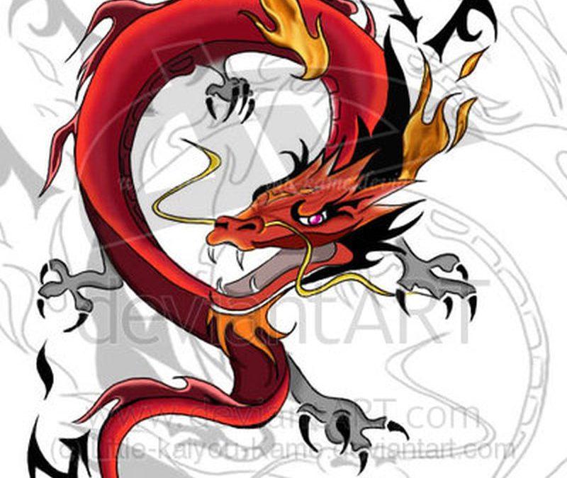 Best dragon tattoo design