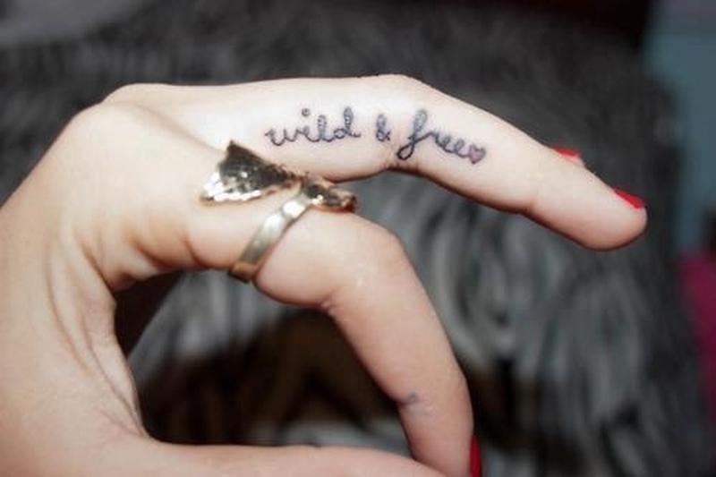 6c031be711153 Best finger tattoo design - Tattoos Book - 65.000 Tattoos Designs