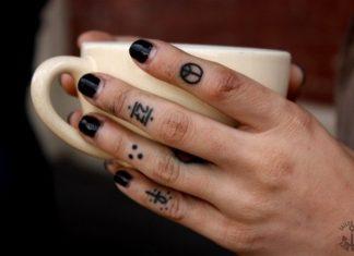 db48c2576 Finger tattoos - Tattoos Book