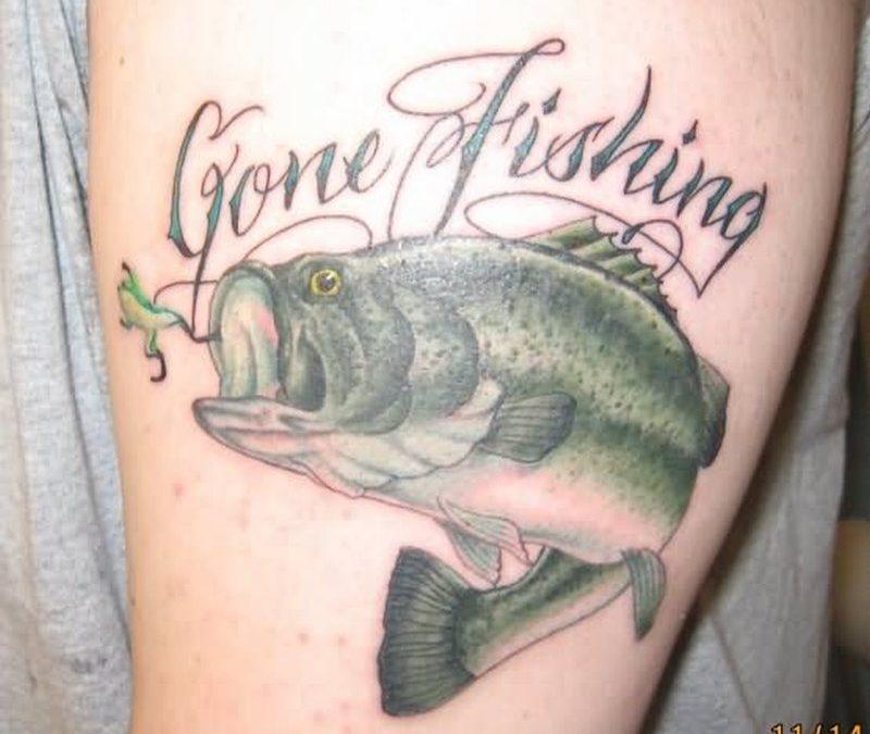Best fishing tattoo design