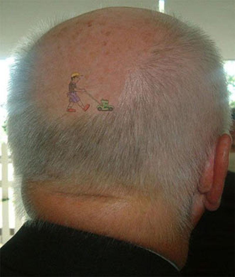 Best head tattoo design