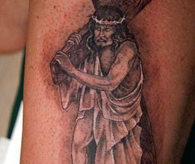 Best jesus tattoo design