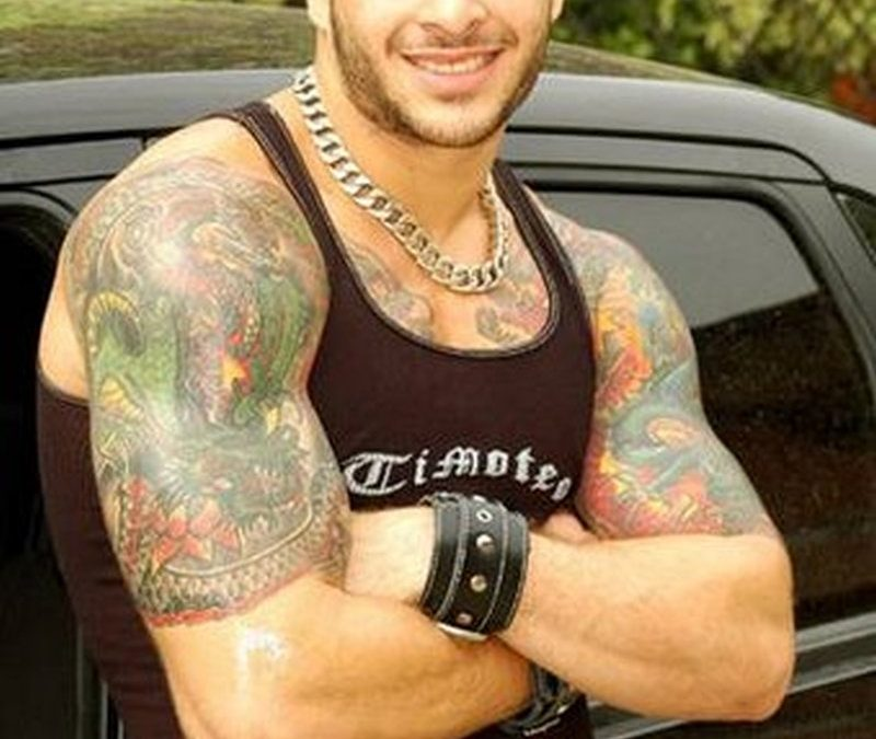 Biceps tattoo for cool guys