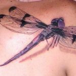 big-3d-dragonfly-tattoo-on-back-shoulder-2