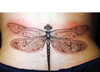 0c39af8ffff1e Dragonfly tattoos - Tattoos Book