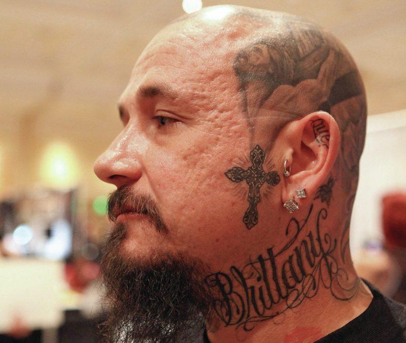 Biggest tattoo show on earth head tattoo design