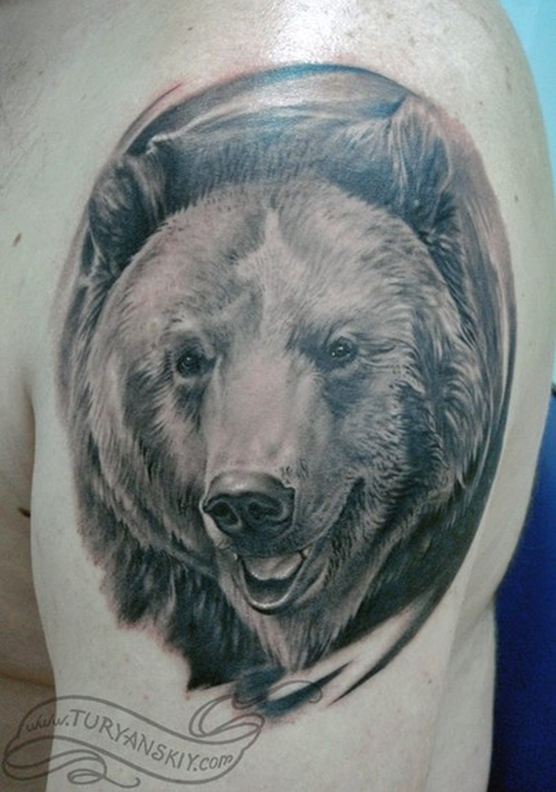 Image Result For Bear Print Tattoo
