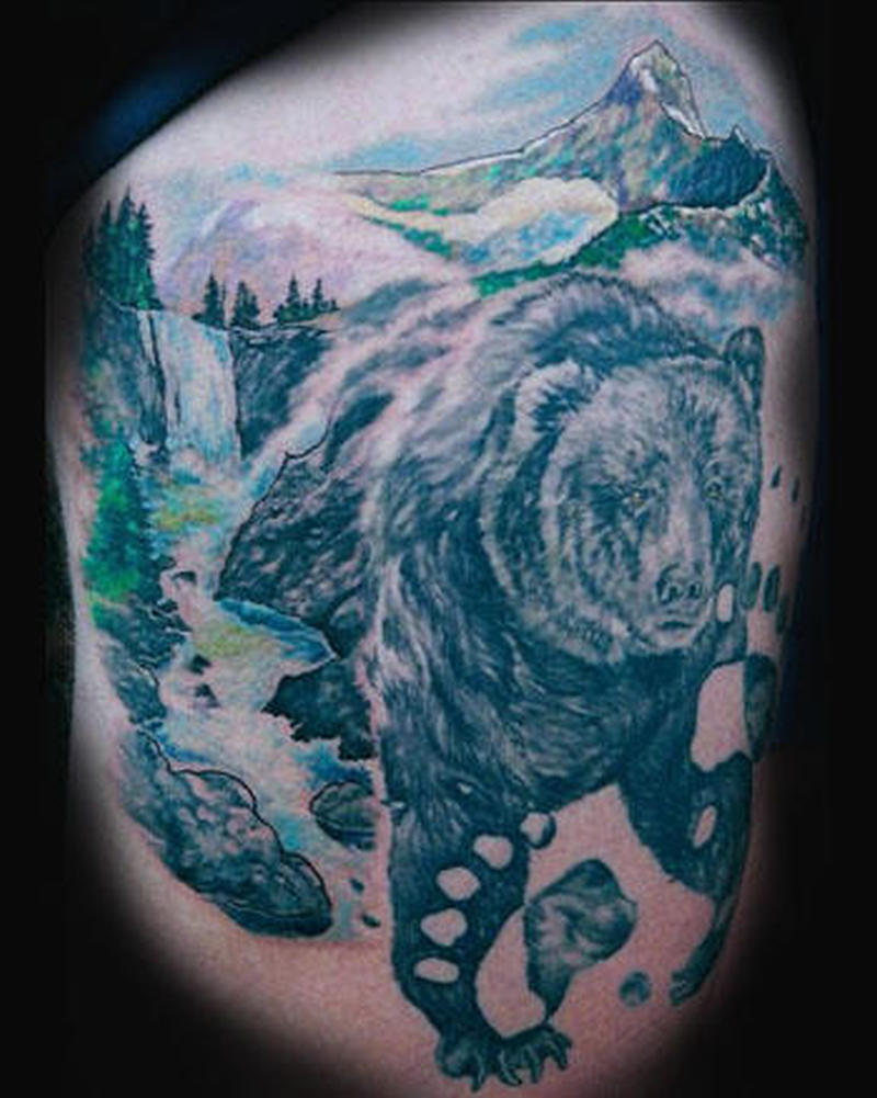 black forest bear tattoo design tattoos book tattoos designs. Black Bedroom Furniture Sets. Home Design Ideas