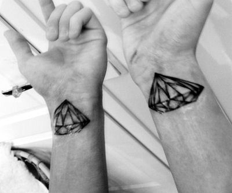 black n white diamond tattoo designs on wrist tattoos book. Black Bedroom Furniture Sets. Home Design Ideas